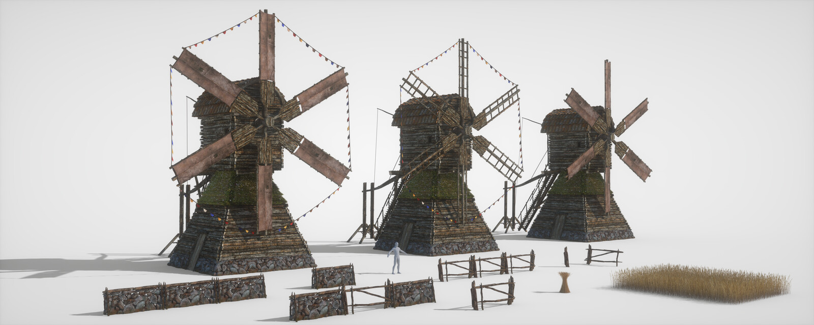 Windmill Props and Animations