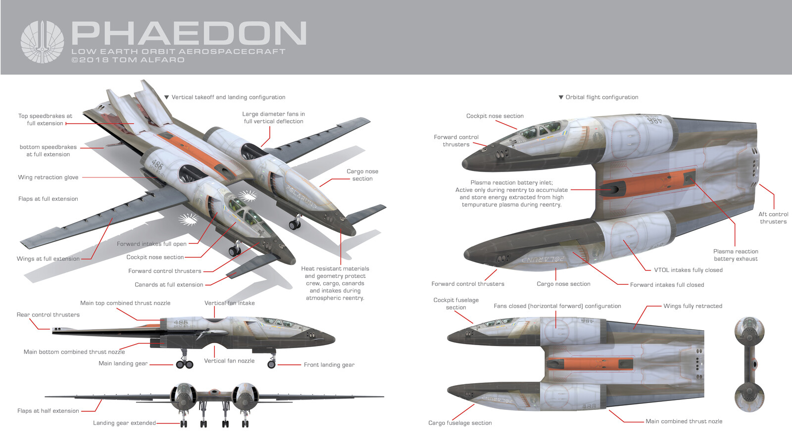 PHAEDON TECHNICAL DIAGRAMS
