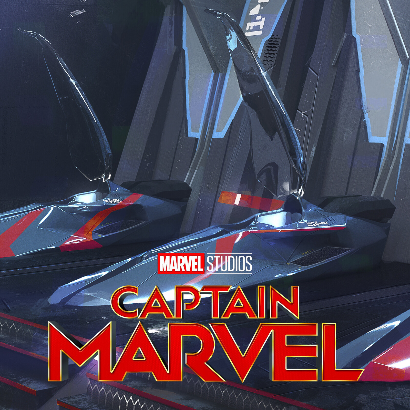 CAPTAIN MARVEL - Kree Escape Pod