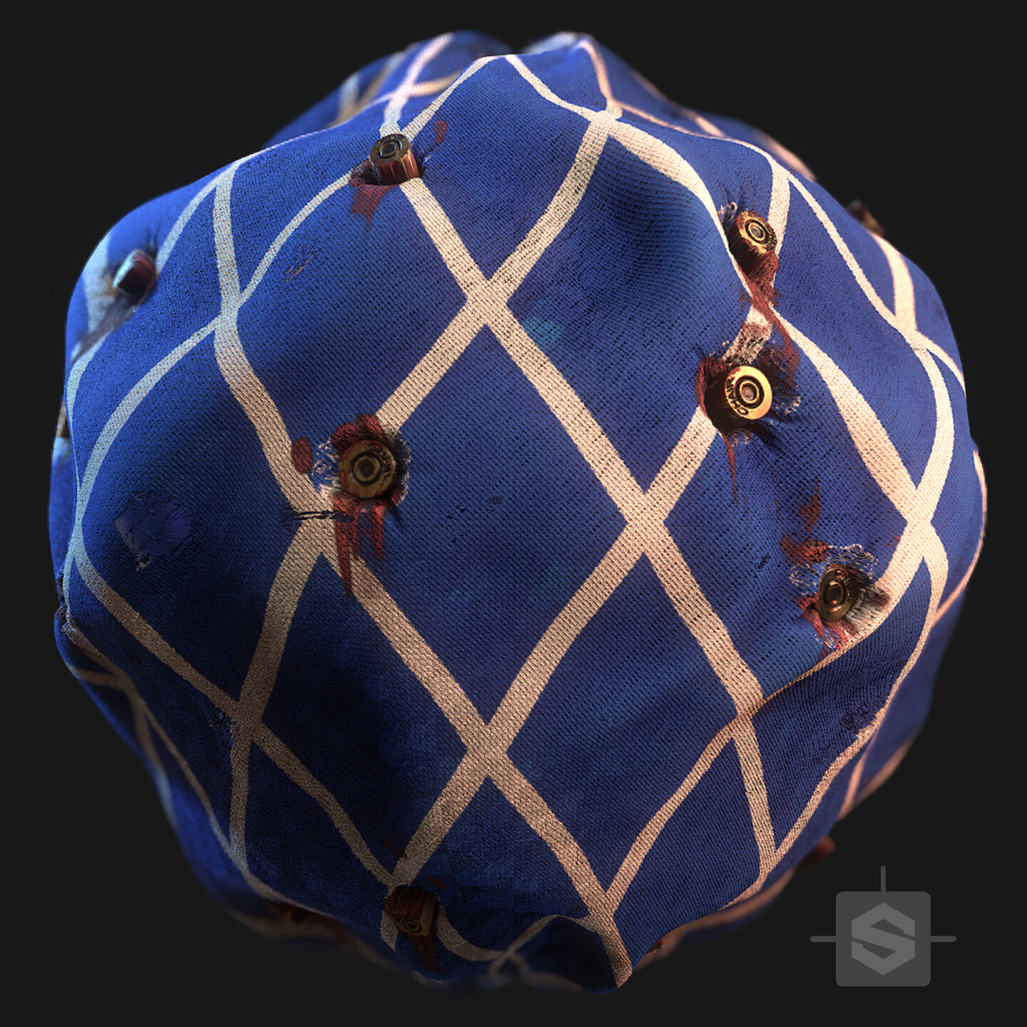 Substance Designer - Casings in Fabric