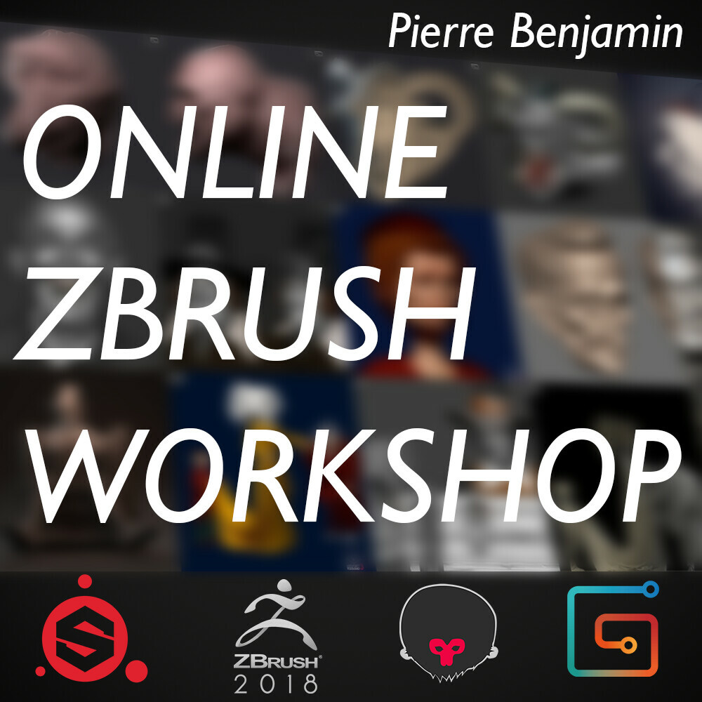 Online Character Workshop June - July 2019 By Pierre Benjamin