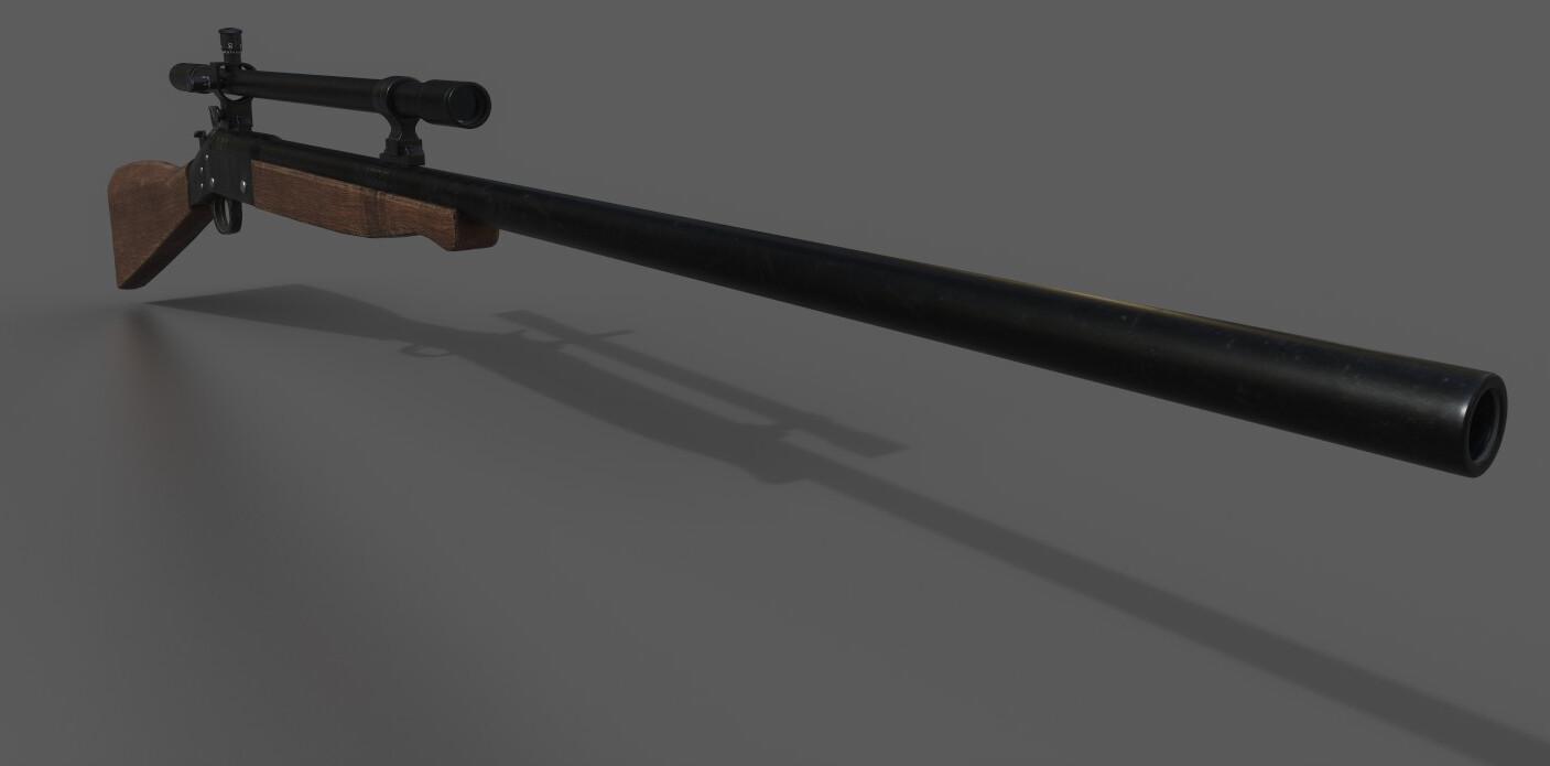 Buffalo Trace Rifle