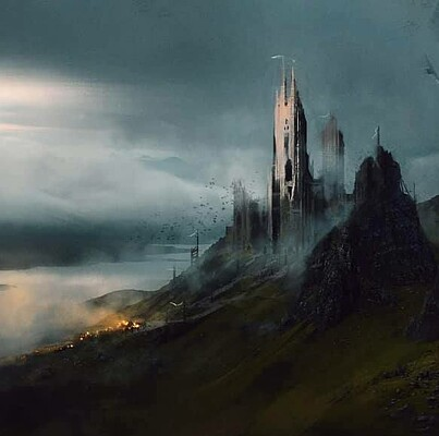 Concept Art Explorations - Knights and Castles