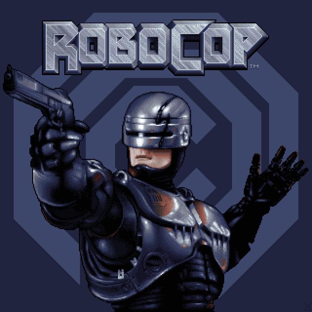 RoboCop Pixel Art