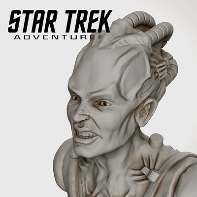 Borg Queen Pose2 - Star Trek Adventures