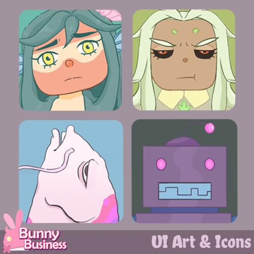 Bunny Business UI