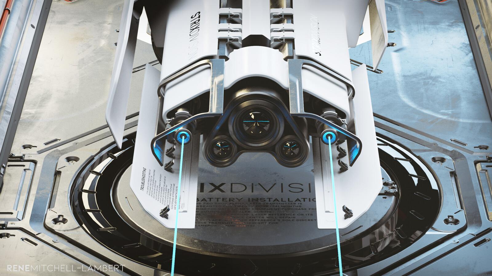 Strix Division Prototype Laser - SL04