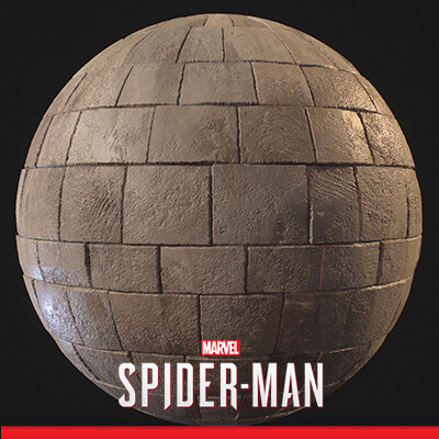 Spider-Man PS4 - Various Materials