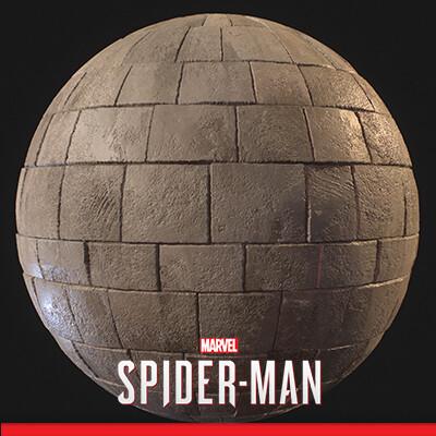 Spider-Man PS4 - Various Materials