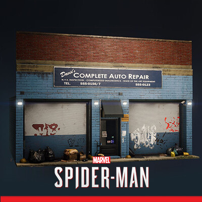 Spider-Man PS4 - Storefronts