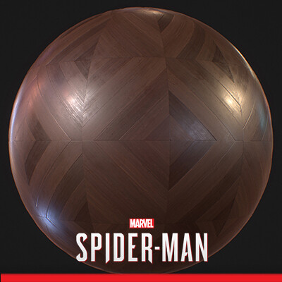 SPIDER-MAN PS4 - Wood Parquet Material