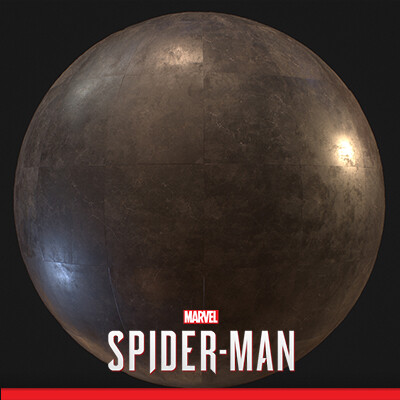 SPIDER-MAN PS4 - Marble Tile Material