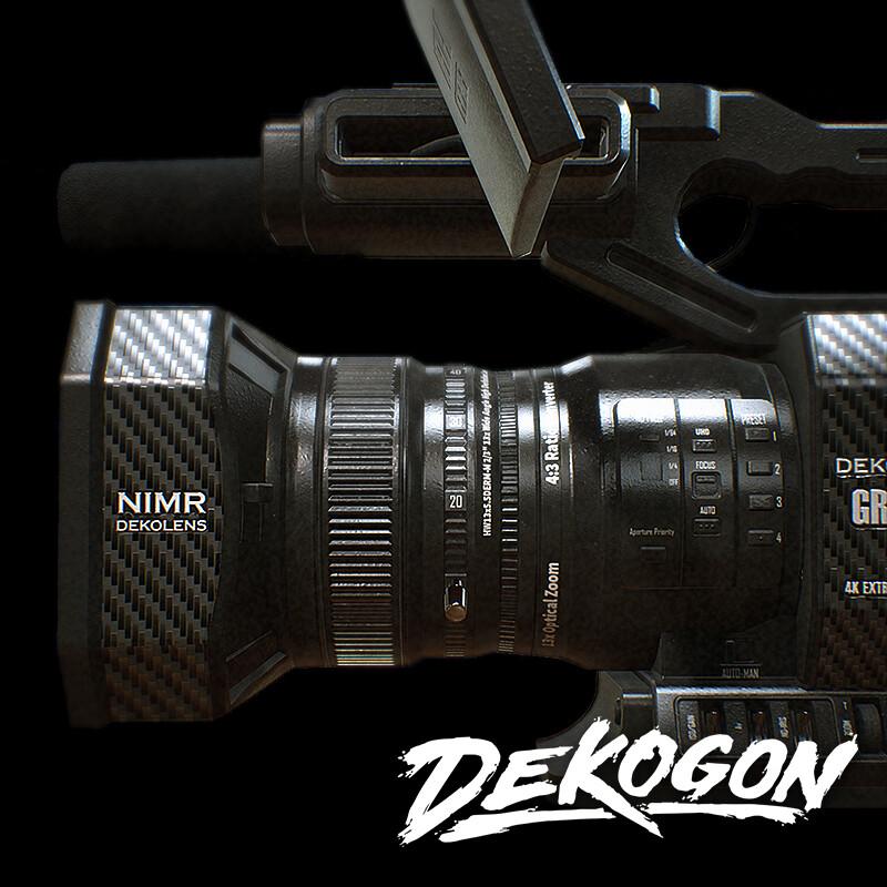 Dekogon - 4K Camera 01