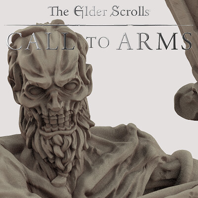 Basic Draugr 3 . The Elder Scrolls - Call to Arms