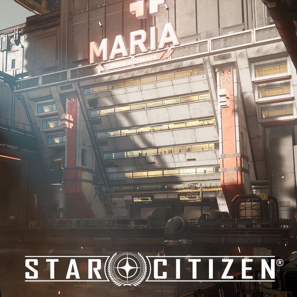 Star Citizen: Lorville - The pit