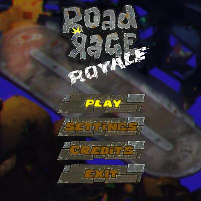 Road Rage Royale - Menu