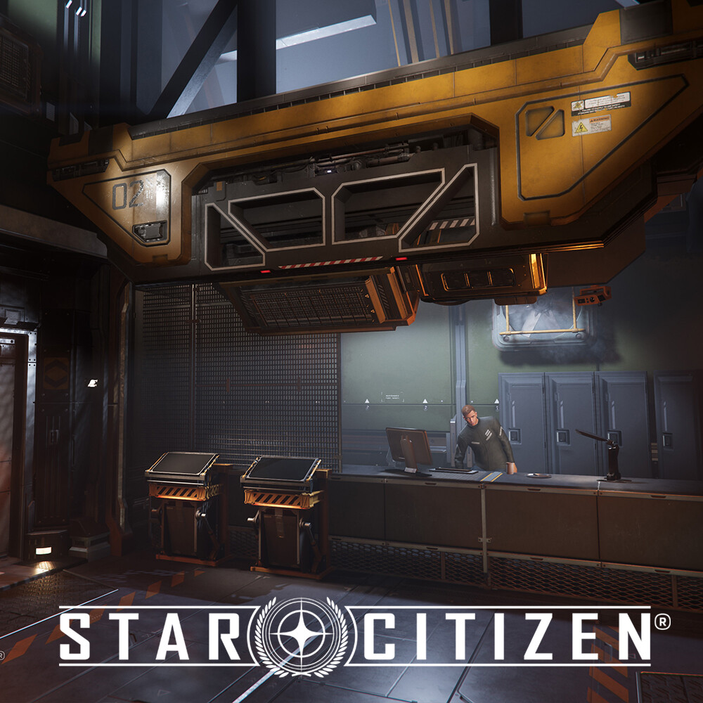 Star Citizen: Lorville - Habs Lobby