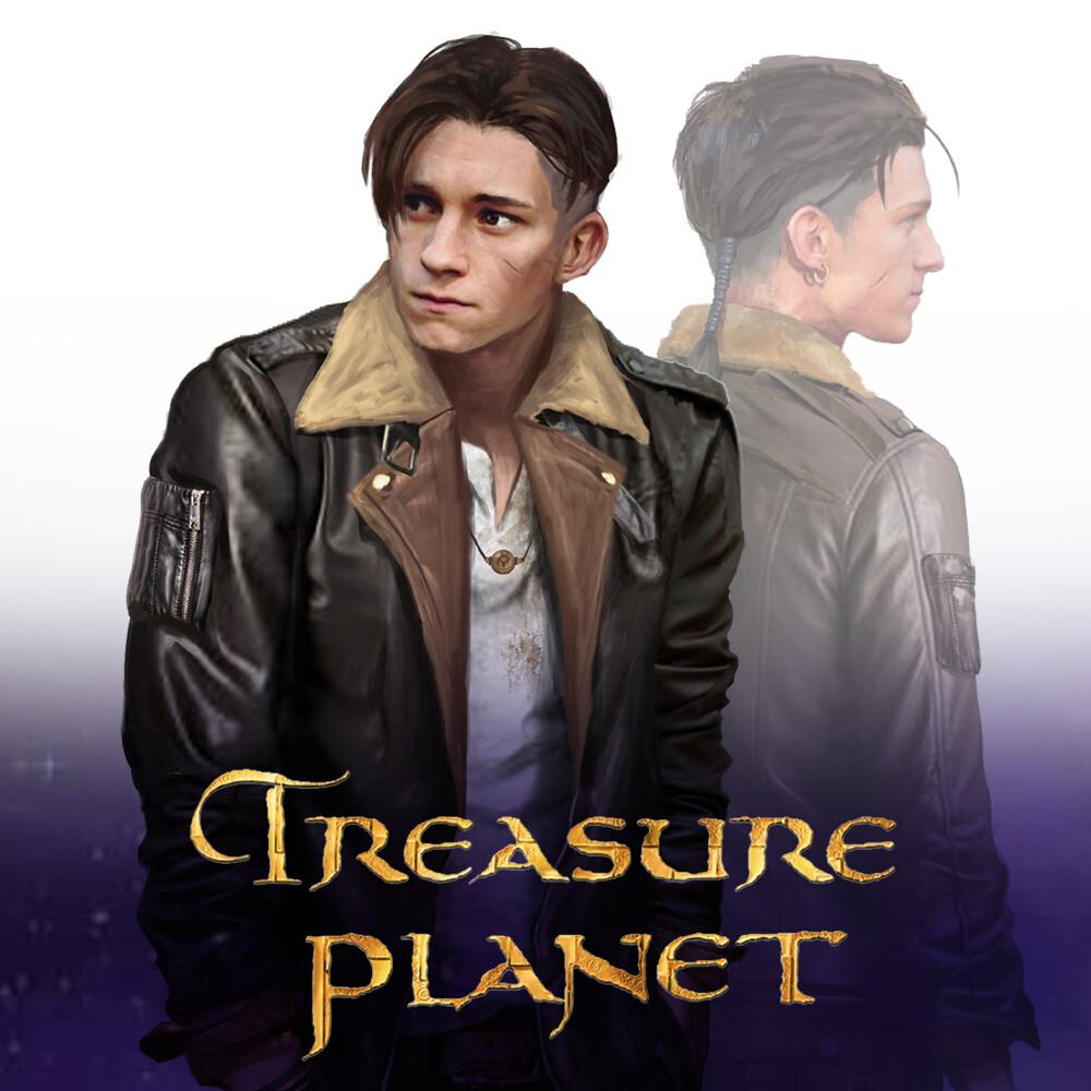 James Hawkins Treasure Planet