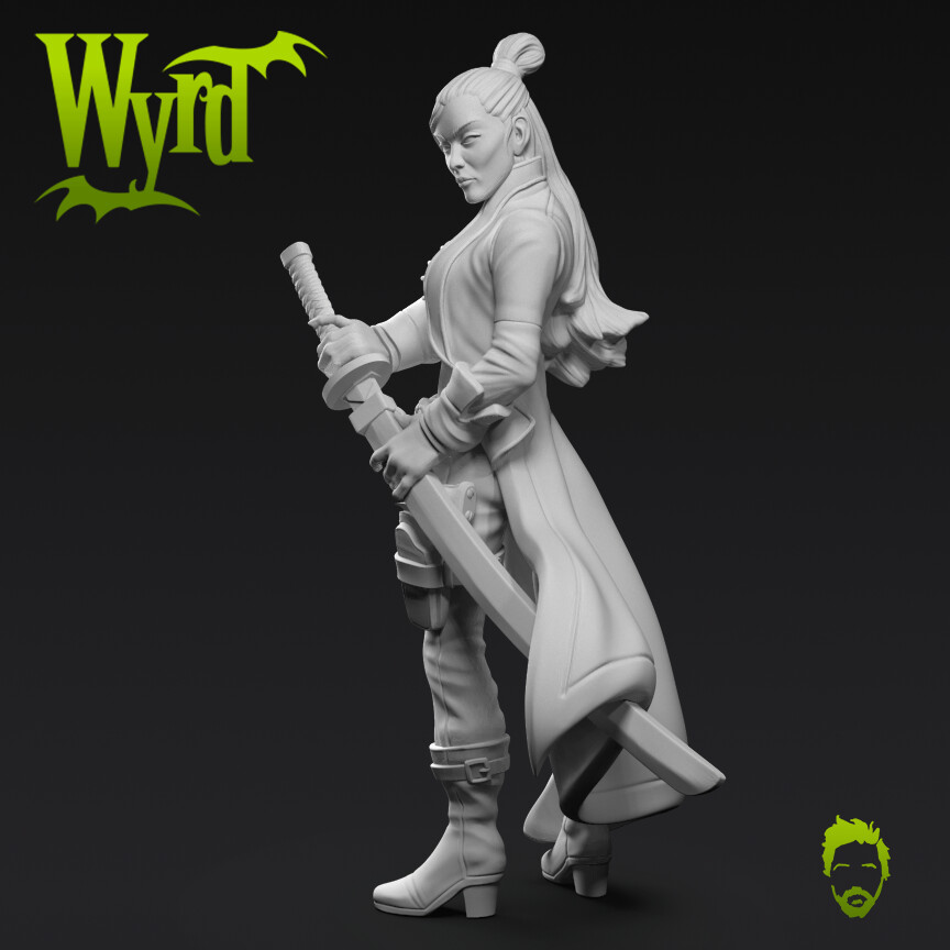 Wyrd - Lady Justice Core Boxed Set - M3e