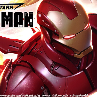 Inhyuk lee tony stark iron man 14 3
