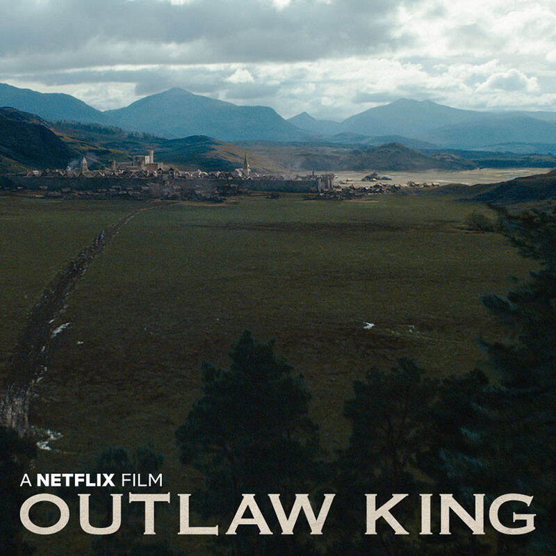 Outlaw King - Matte paintings and concepts