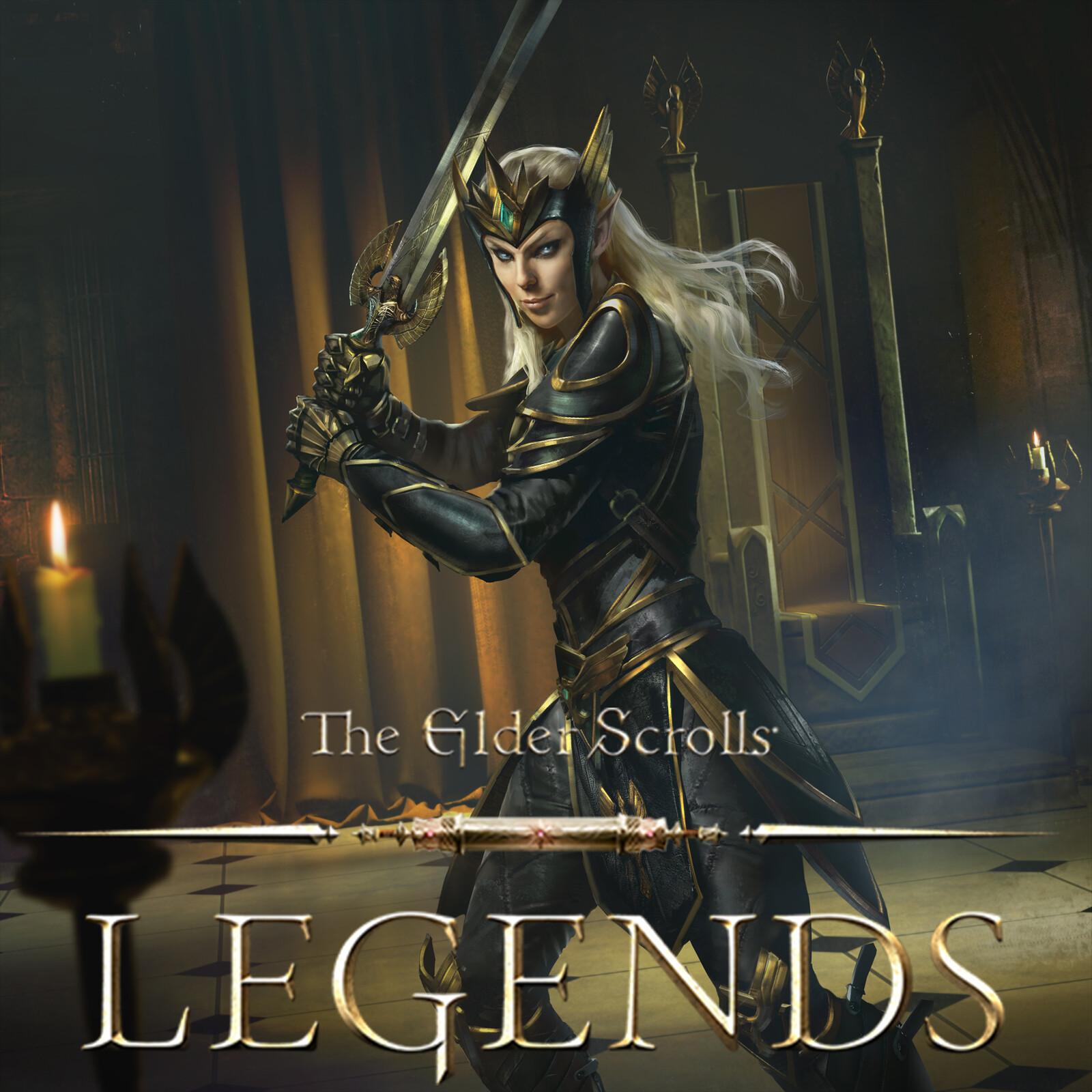 Ayrenn, Dominion Queen - The Elder Scrolls: Legends