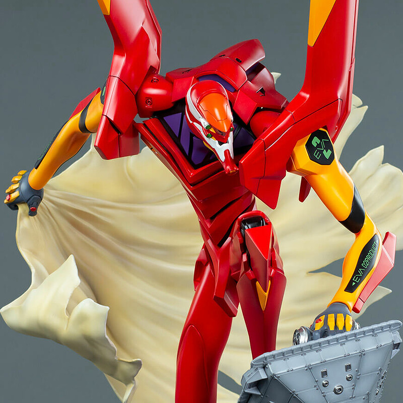 EVA 02 - Evangelion - First Appearance