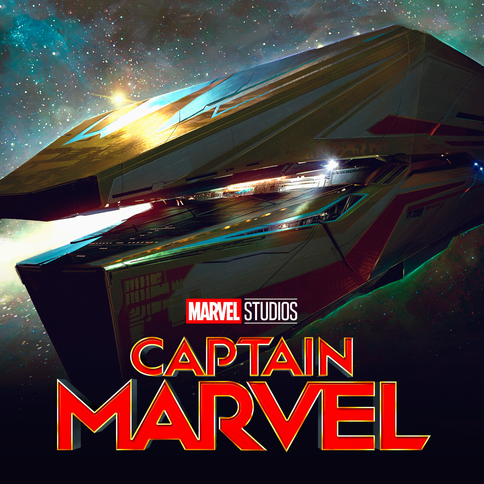 CAPTAIN MARVEL : Mar Vell's Imperial Cruiser