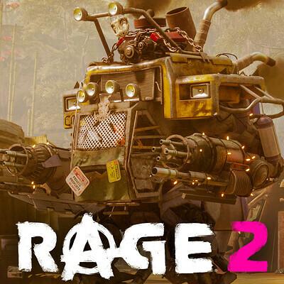 Redneck Mech - Rage 2