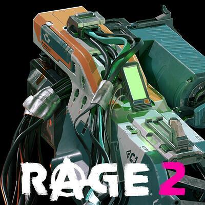 Grav-Dart Launcher - Rage2