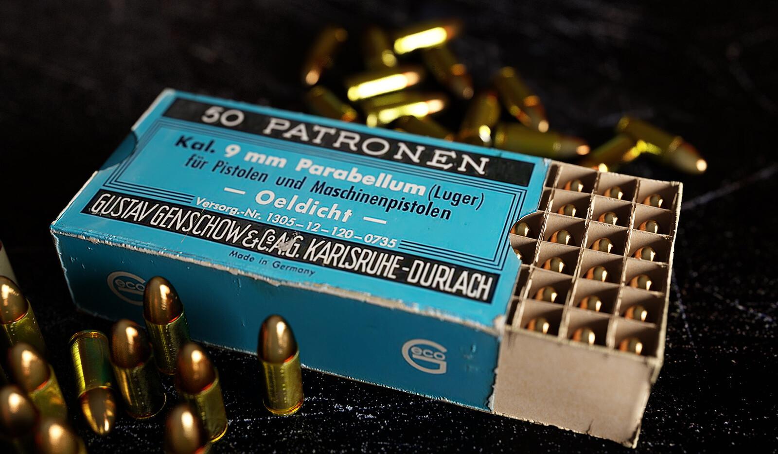 9X19 Luger (Prop modeling)