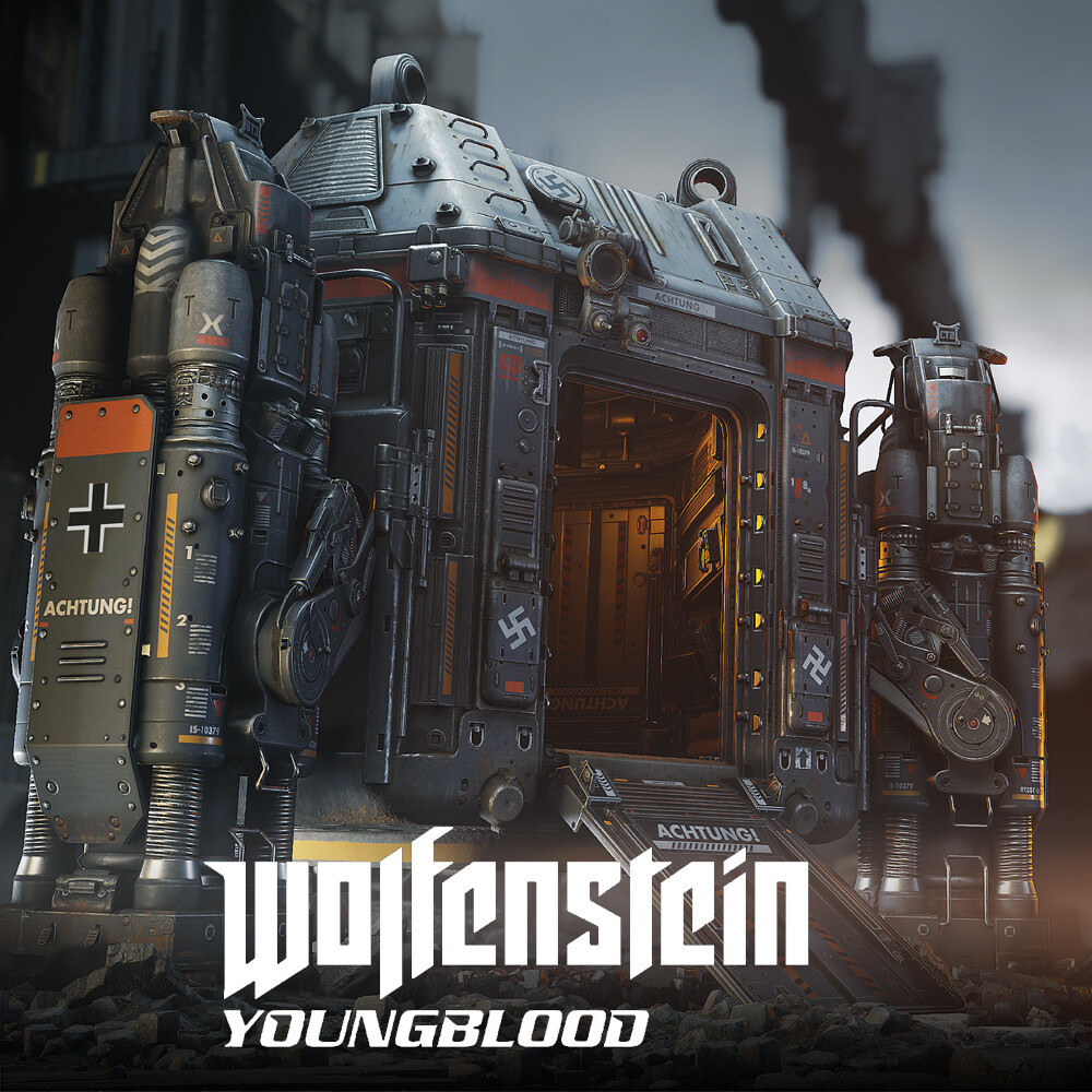 Wolfenstein: Youngblood - DropTower