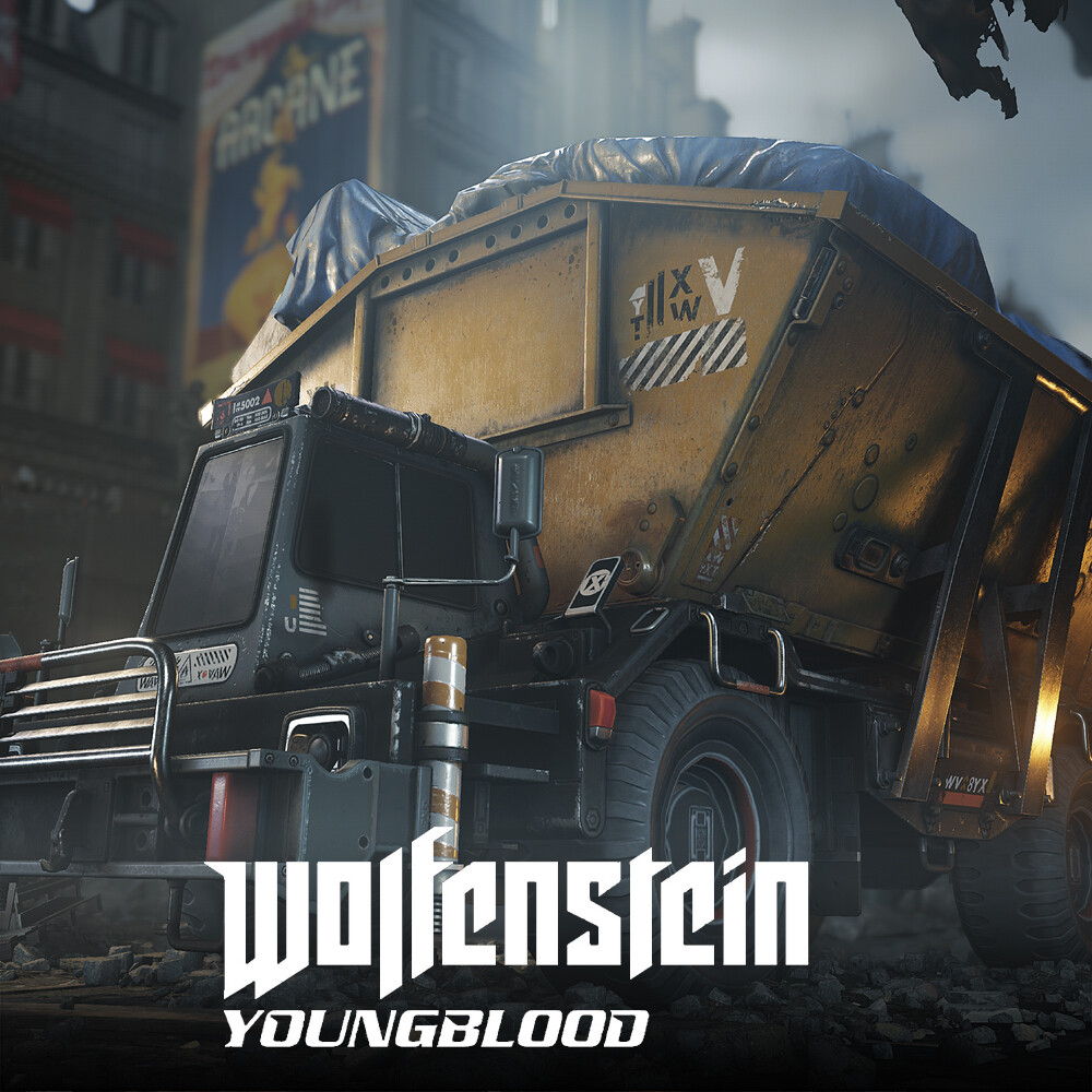 Wolfenstein: Youngblood - Container unit