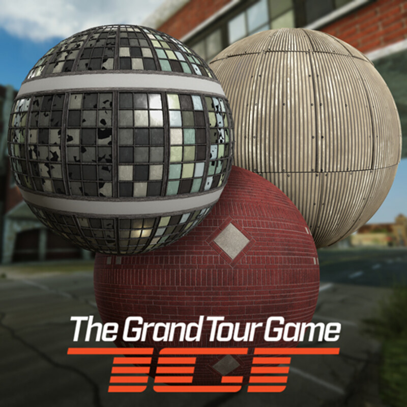 The Grand Tour Game - Materials - Detroit