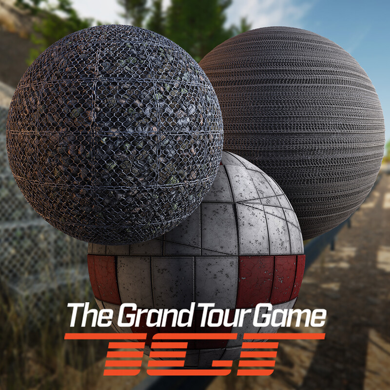 The Grand Tour Game - Materials - Algarve, Monchique, Nevado, Misc