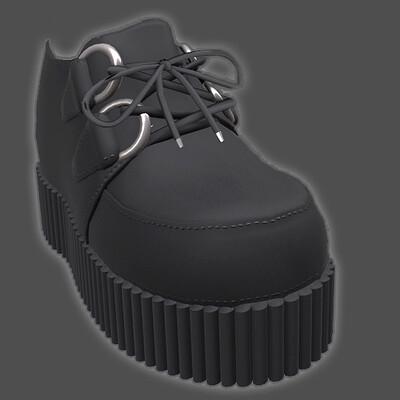 Creeper style shoe