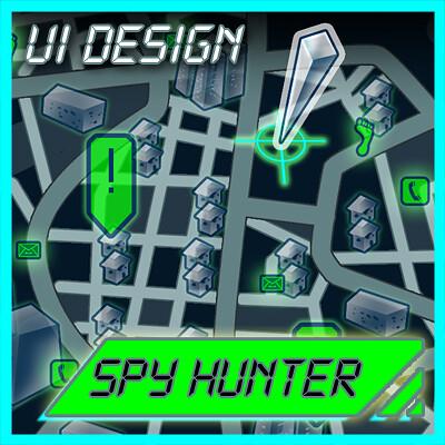 Jeanne price as spy hunter logo
