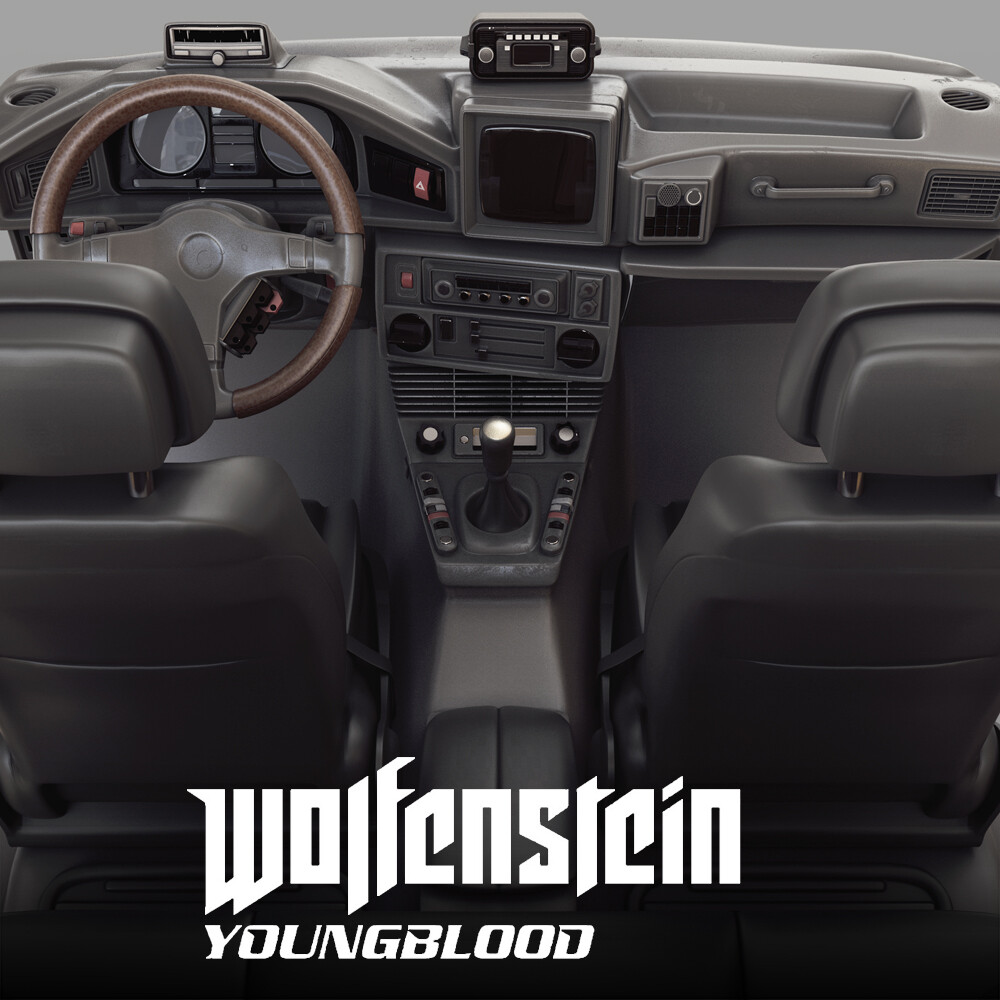 Wolfenstein: Youngblood - Dashboard