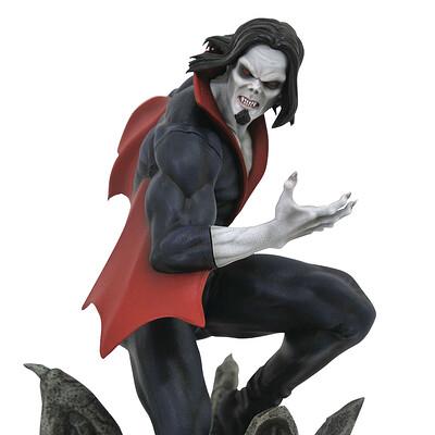 Alterton bizarre marvel gallery comic morbius pvc fig