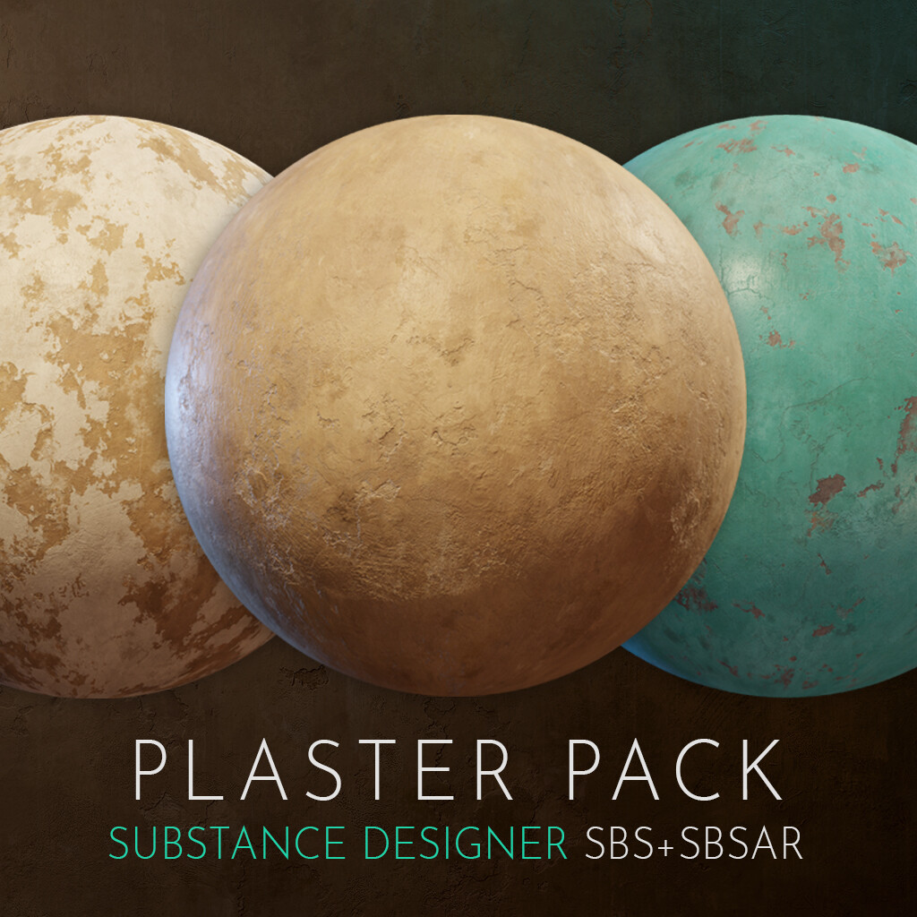 Substance Designer | Plaster Pack