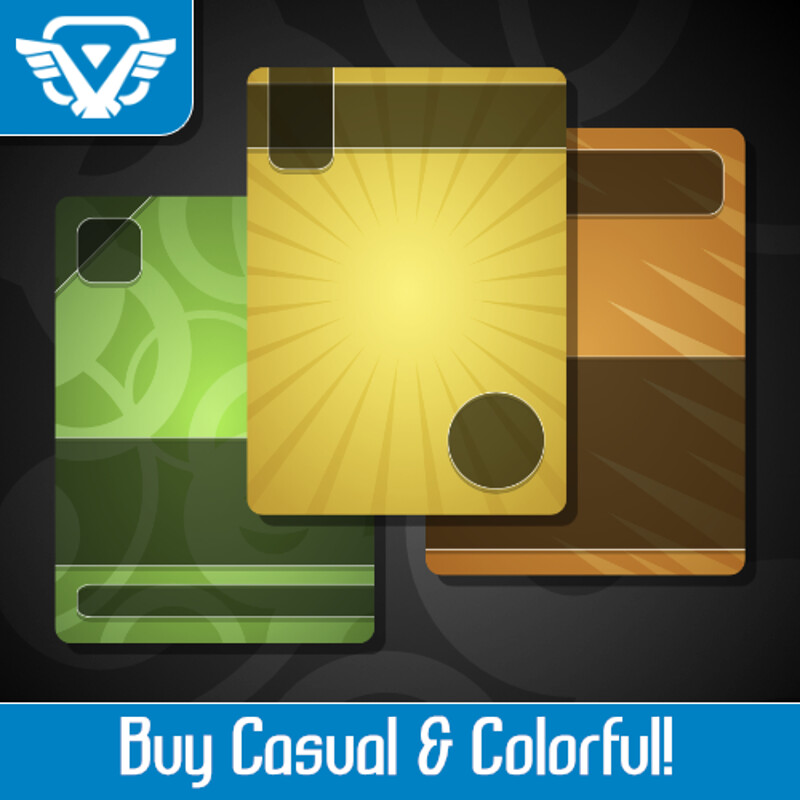 Casual & Colorful Asset Pack