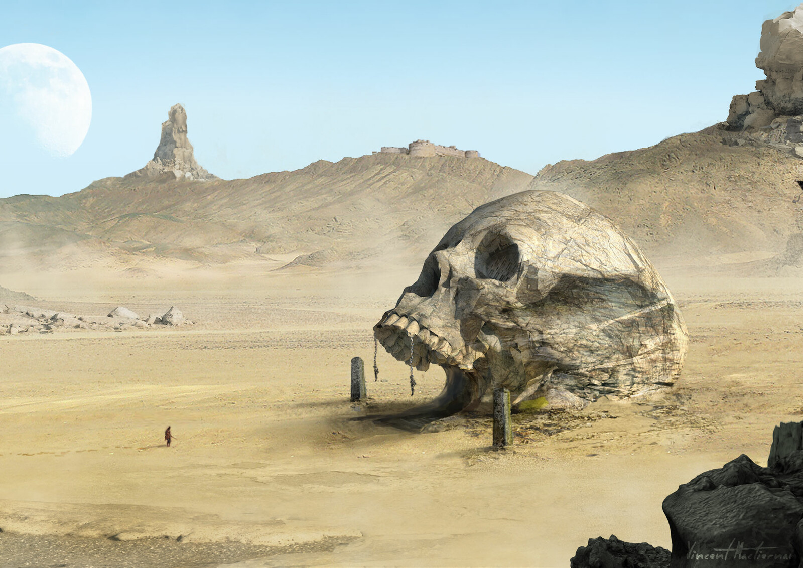 The Desert Skull Entrance
