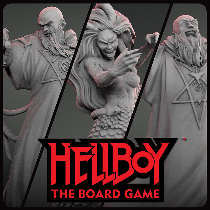 Hellboy bosses