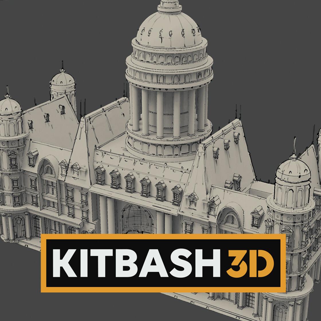 Kitbash3d Parisian