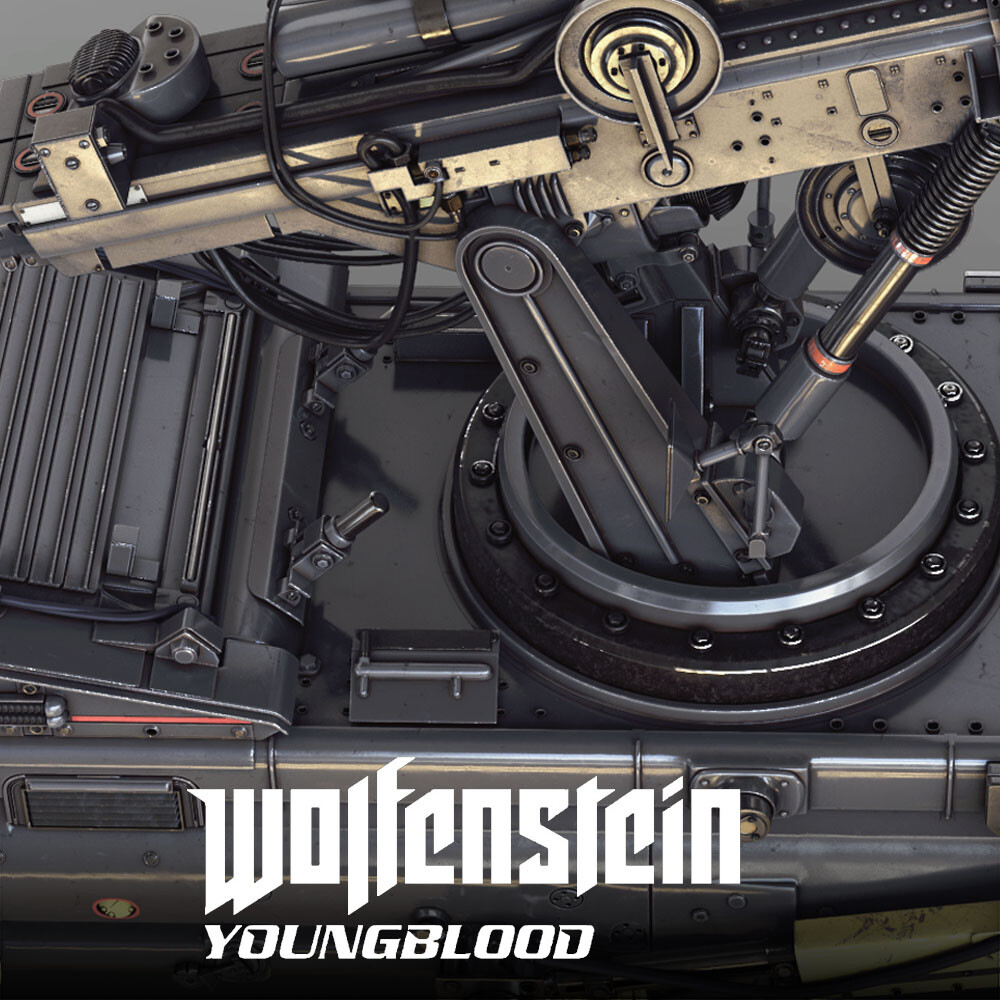 Wolfenstein: Youngblood - Welder HighPoly