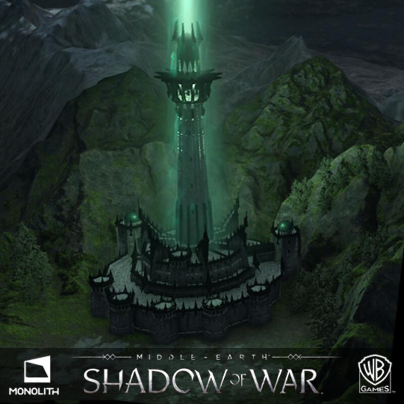Middle Earth: Shadow of War - UI Screens