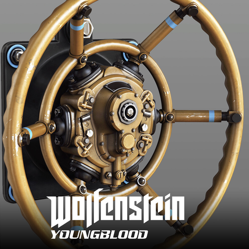 Wolfenstein: Youngblood - Intractables  HighPoly