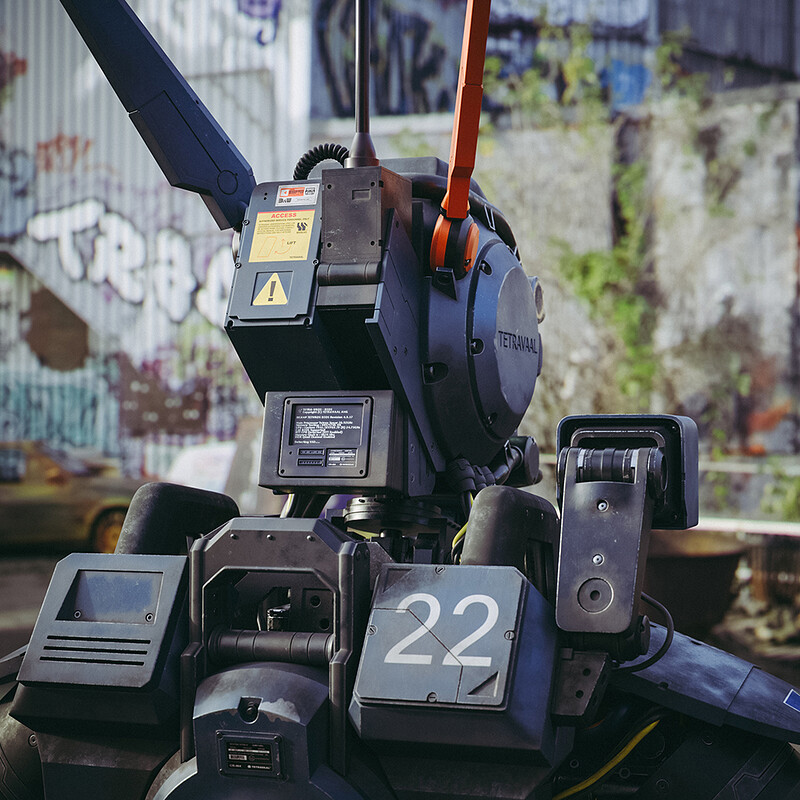 Chappie Bust