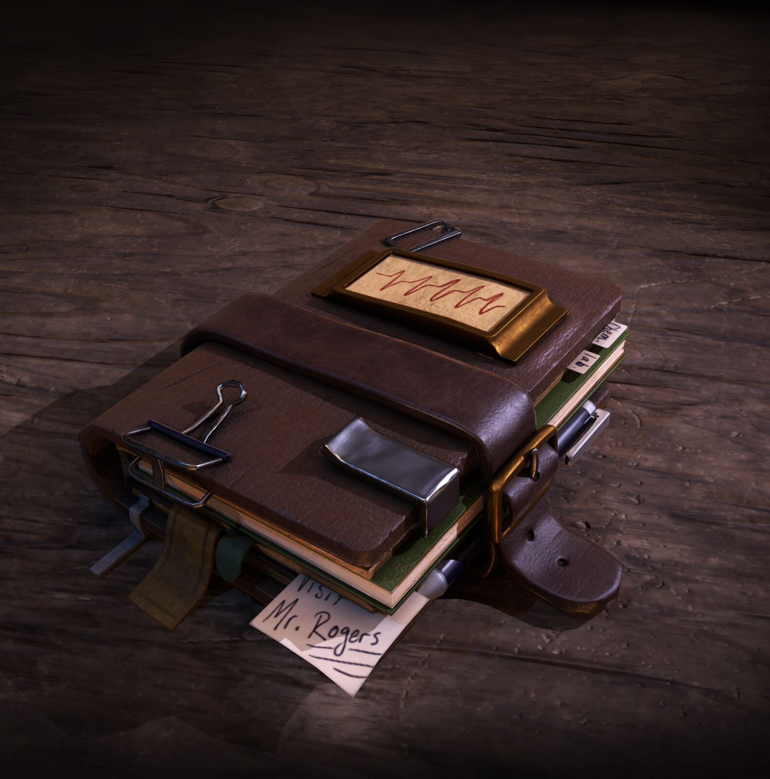 Doctor Finch's Notebook