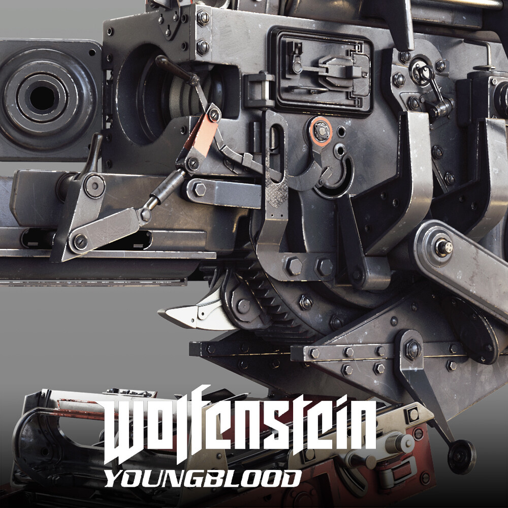 Wolfenstein: Youngblood - Zeppelin Assets